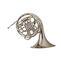 Conn 8D Double French Horn Silver